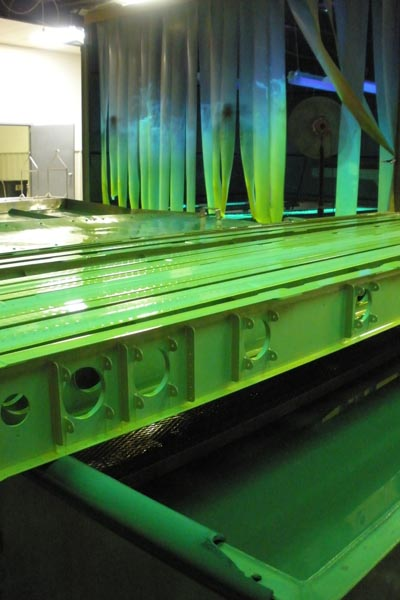 flourescent penetrant inspection